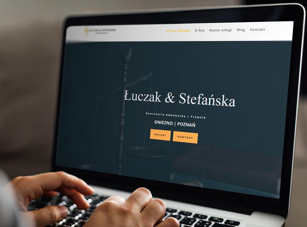 strona internetowa kancelarii adwokackiej